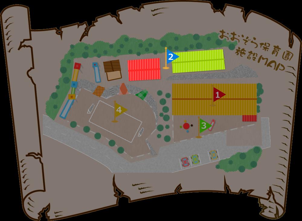 青空保育園施設マップ